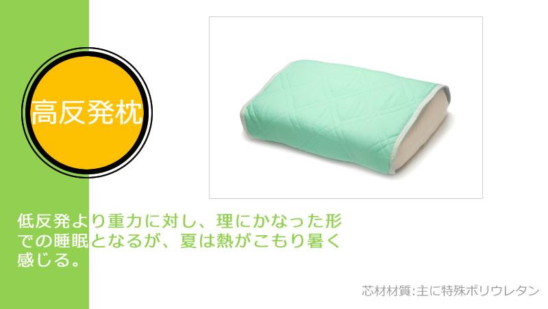 5位:高反発枕